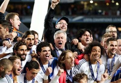 Carlo Ancelotti, allenatore del Real Madrid (Infophoto)