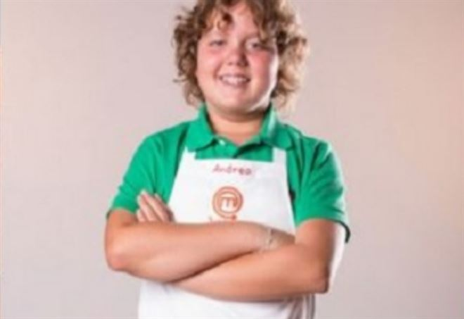 Andrea Pace, ex concorrente di Junior MasterChef