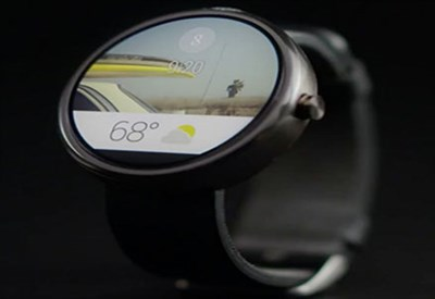 Un dispositivo Android Wear