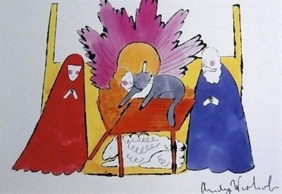 Andy Warhol, Nativity (1982) (Immagine d'archivio)