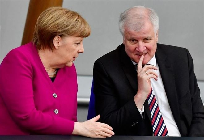 Angela Merkel e Horst Seehofer (Foto: LaPresse)
