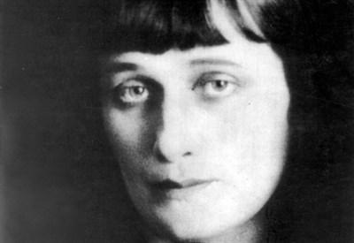 Anna Andreevna Achmatova (1989-1966) (Immagine dal web)