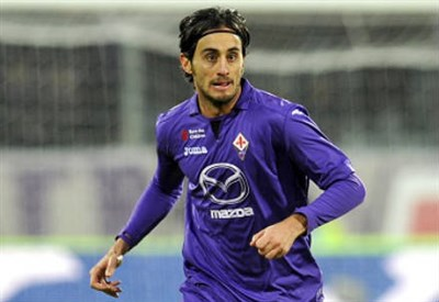 Alberto Aquilani, 29 anni, centrocampista della Fiorentina (INFOPHOTO)