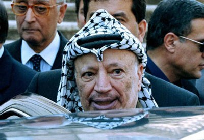 Yasser Arafat (1929-2004) (Infophoto)