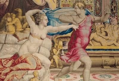 L'arazzo con la seduzione di Giuseppe (Immagine dal web)