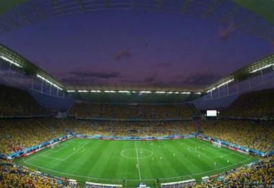 L'Arena Corinthians di San Paolo (dal profilo Twitter ufficiale @FIFAWorldCup)