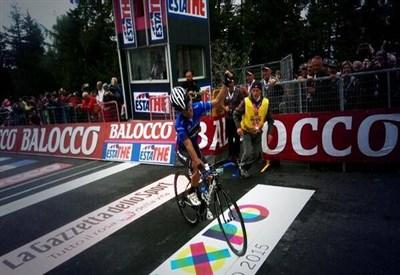 Julian Arredondo vince al Rifugio Panarotta (da Facebook)