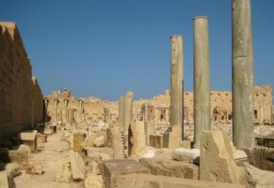 Rovine di Leptis Magna (Foto SashaCoachman, Wikipedia)