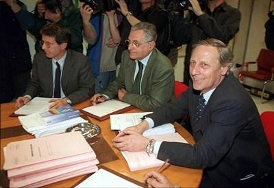 Sergio Artico (a destra) ha accolto dodici patteggiamenti nell'inchiesta calcioscommesse (INFOPHOTO)