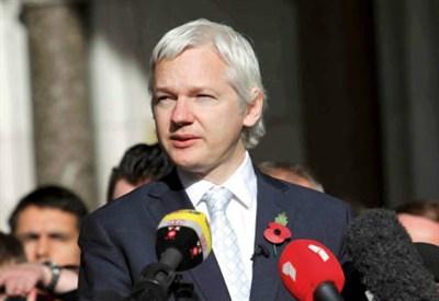 Julian Assange (InfoPhoto)