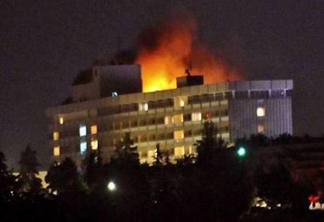Attacco terroristico in hotel a Kabul (Foto: da Twitter)