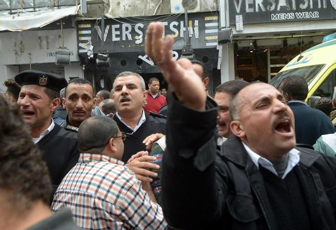 Attentato in Egitto (LaPresse)