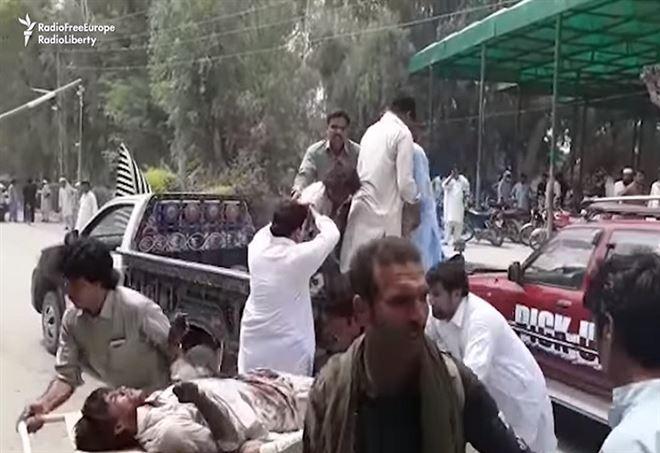 Attentato in Pakistan