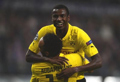 Adrian Ramos, 28 anni, colombiano (dall'account Twitter ufficiale @ChampionsLeague)