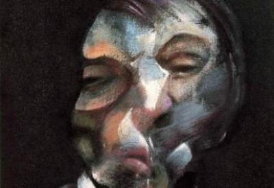 Francis Bacon, Autoritratto (particolare; immagine d'archivio)