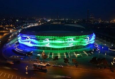 Lo stadio di Baku (da Facebook Baku 2015 European Games)