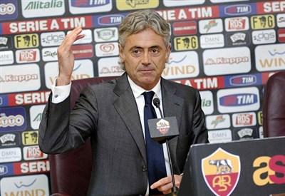 Il ds della Roma Franco Baldini (Infophoto)