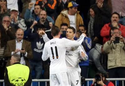 Gareth Bale e Cristiano Ronaldo (Infophoto)