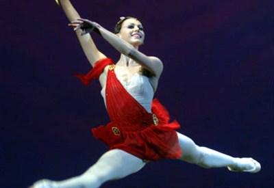 Uno spettacolo al Teatro Bolshoi di Mosca