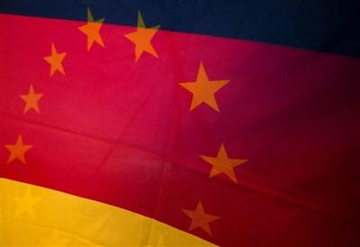 La bandiera della Germania (Foto: Infophoto)