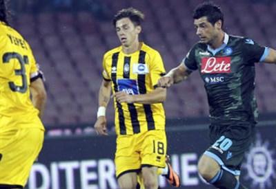 Daniele Baselli, 21 anni, centrocampista dell'Atalanta (INFOPHOTO)