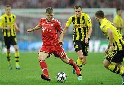 Un'immagine della finale di Champions League (Infophoto)