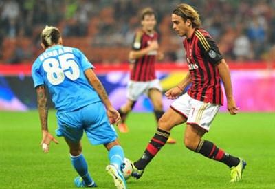 Alessandro Matri, attaccante della Fiorentina (Foto Infophoto)