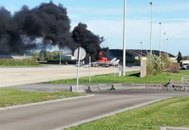 Belgio, esplosione in base militare aerea (Twitter)