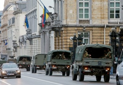 Belgio, allerta terrorismo (Infophoto)