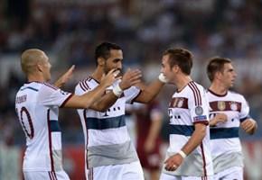 Video/ Roma-Bayern Monaco (1-7): i gol di Robben (2), Gotze, Lewandowski, Muller, Gervinho (martedi 21 ottobre)