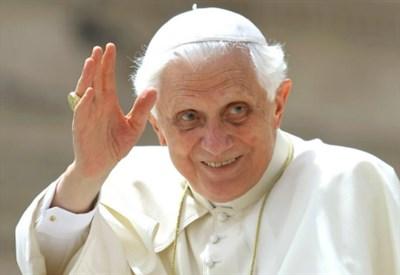 Il papa emerito Benedetto XVI (LaPresse)