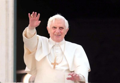 Papa Benedetto XVI ricorda Padre Massimiliano Kolbe, santo e martire (Imagoeconomica)