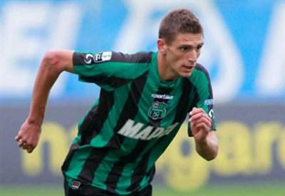 Domenico Berardi, attaccante Sassuolo (Foto Infophoto)