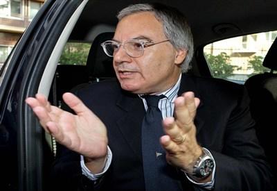 Il presidente di Lega Maurizio Beretta (Infophoto)