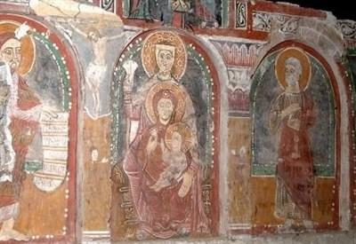 Ritrovamenti archeologici sotto la cattedrale a Bergamo (immagine d'archivio)