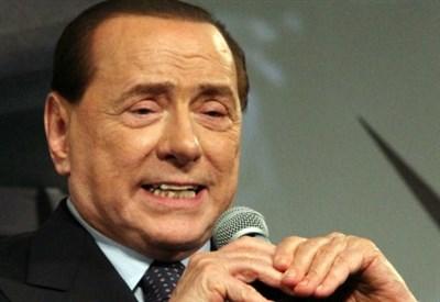 Berlusconi (Fonte Infophoto)