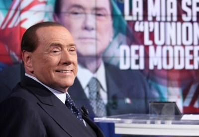 Silvio Berlusconi(Infophoto)