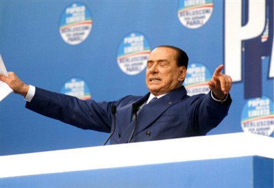 Silvio Berlusconi (Foto InfoPhoto)