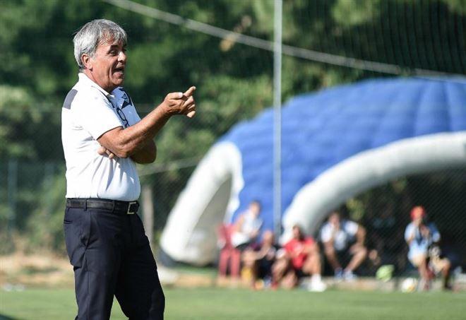 Mereu, allenatore Olbia - LaPresse