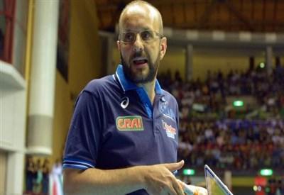 Mauro Berruto, c.t. dell'Italia