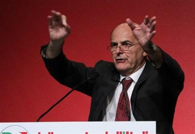 Il segretario del Pd, Pier Luigi Bersani