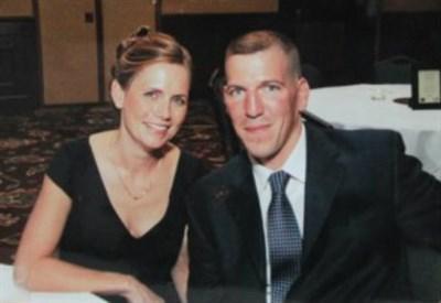 Beth O'Rourke con il marito