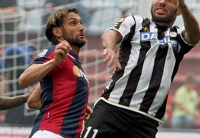 Rolando Bianchi, attaccante Bologna (Foto Infophoto)