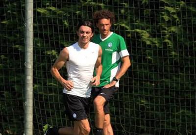 Giuseppe Biava, 37 anni, nuovo acquisto dell'Atalanta (dall'account Twitter ufficiale @Atalanta_BC)