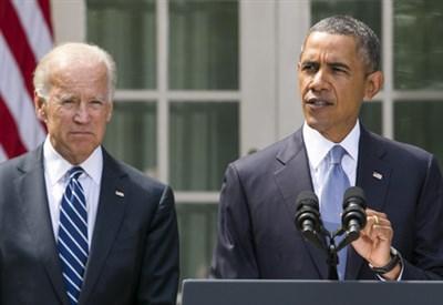 Joe Biden con Barack Obama (Infophoto)