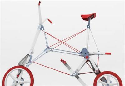 Prototipo di Bike Intermodal