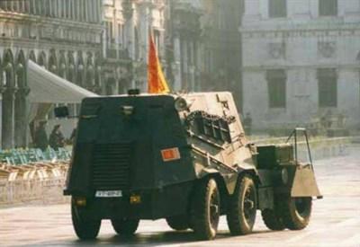Il Tanko usato dai Serenissimi nel 1997