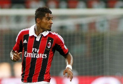 Kevin Prince Boateng ai tempi del Milan (Infophoto)