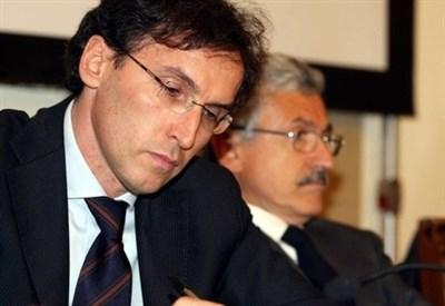 Francesco Boccia con Massimo D'Alema (Infophoto)