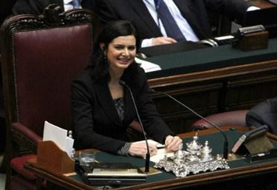 Laura Boldrini (InfoPhoto)
